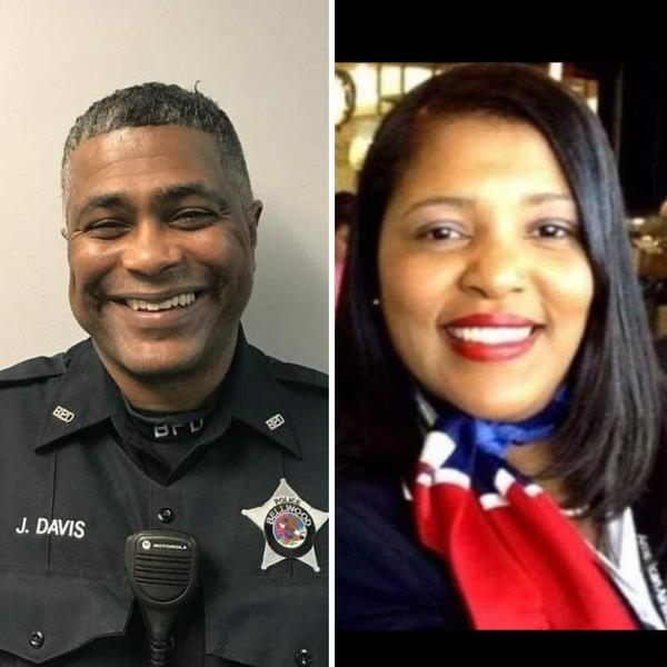 James Eric Davis Sr. and Diva Jeneen Davis were fatally shot Friday morning at Central Michigan University, allegedly by their son.