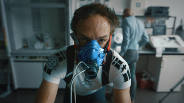 Midway through <em>Icarus</em>, what begins as director Bryan Fogel's documentation of his own performance-enhancing drug experiment pivots to a far larger tale of state-sponsored doping in Russia.