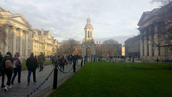 A strike took place in January at Trinity College Dublin to campaign for the legalization of abortion in Ireland.