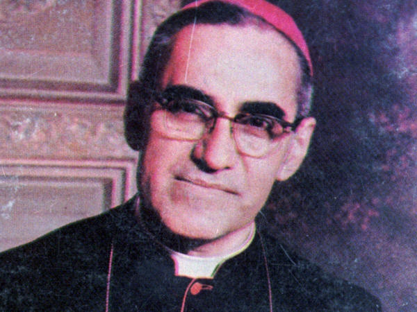 An undated file photo shows Archbishop Oscar Arnulfo Romero, who was gunned down while giving Mass in a San Salvador church on March 24, 1980.