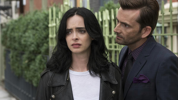 In season two, Jessica Jones (Krysten Ritter) is still haunted by Kilgrave (David Tennant), the man who once abducted her.