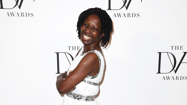 Agnes Igoye celebrates her birthday on International Women's Day. Above, Igoye, an anti-trafficking activist in Uganda, attends the 2016 DVF (Diane von Furstenberg) Awards in New York City.