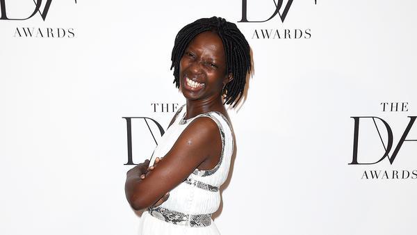 Agnes Igoye celebrates her birthday on International Women's Day. Above, Igoye, an anti-trafficking activist in Uganda, attends the 2016 DVF (Diane von Furstenberg) Awards in New York City.