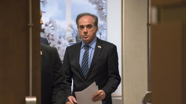 David Shulkin was the first nonveteran to lead the Veterans Affairs Department and an Obama appointee — the lone holdover in the Trump White House.