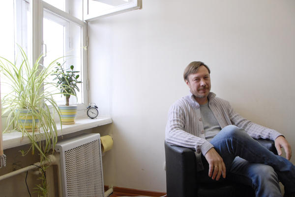 Viacheslav Moskvichov, a family therapist, will not vote in the election this Sunday. He says it's a farce and that there are better ways to connect with your country than to participate in an election with a predetermined outcome.