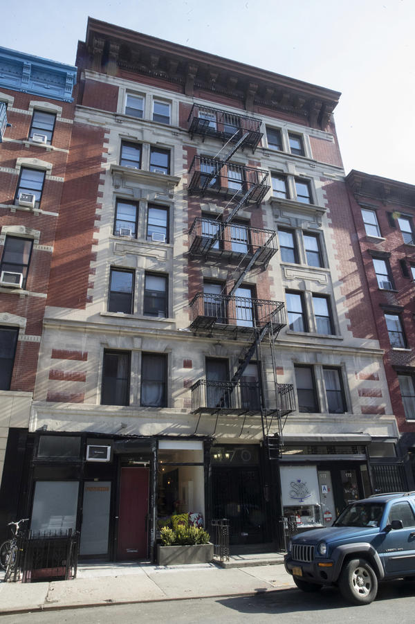 170 E. Second St. in the East Village neighborhood of Manhattan is among the buildings for which Jared Kushner's family real estate company reportedly filed false documents with New York City.