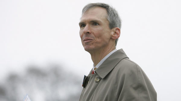 Rep. Dan Lipinski, D-Ill., campaigns for re-election in Illinois' 3rd Congressional District at a commuter train station back in 2008.