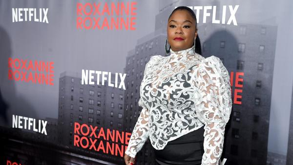 Roxanne Shante attends a special screening of <em>Roxanne Roxanne</em> March 19, 2018 in New York City.
