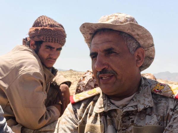 "Gen. Nasser al-Thebani, a Yemeni commander, told NPR recently: ""Our strategy is to liberate all Yemeni territory."""