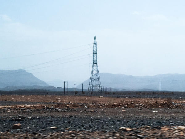 Power lines leading toward Sanaa, the Yemeni capital, have been cut. Rebel-held areas have had no electricity for years. Food is available, but inflation makes it nearly impossible to afford.