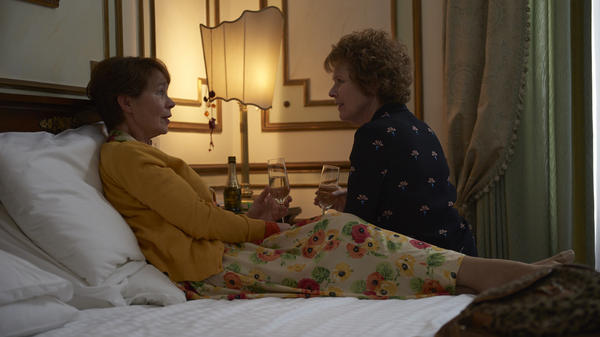 After learning her long-time husband is cheating on her, Sandra (Imelda Staunton) flees to the comfort of her sister Bif (Celia Imrie), and a community dance class, <em></em>in <em>Finding Your Feet. </em>