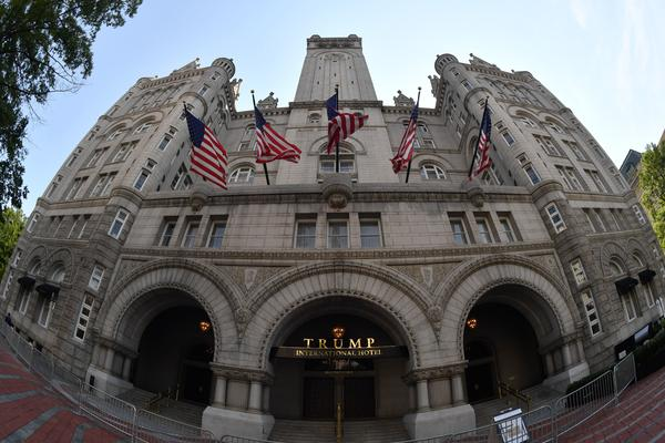 A lawsuit brought by the attorneys general of Maryland and the District of Columbia regarding President Trump's profits from the Trump International Hotel near the White House can proceed, a federal judge has ruled.