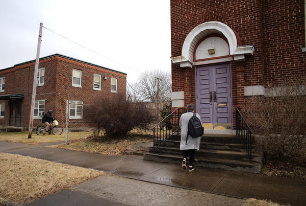 "A donor has made the purchase and renovation of this old, traditionally black church possible. Necia Freeman dreams of using it as a haven for her ""girls"" and for first responders."