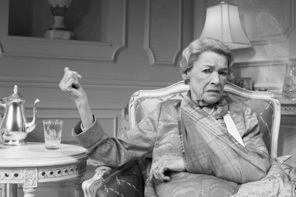 Glenda Jackson plays A, the eldest of the three women in the new Broadway production of Edward Albee's <em>Three Tall Women.</em>