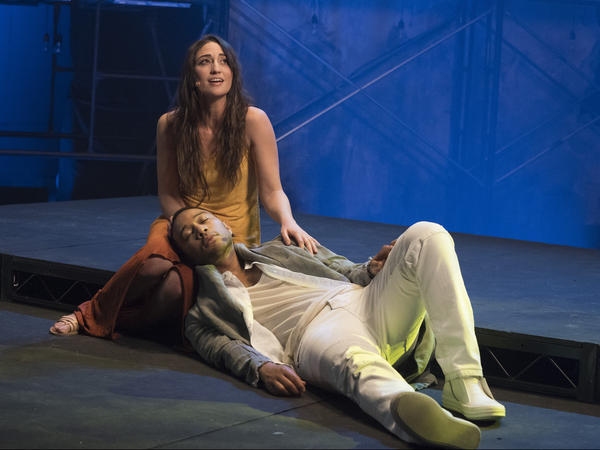 Sara Bareilles stars alongside John Legend as Mary Magdalene, who falls in love with Jesus Christ in the musical.