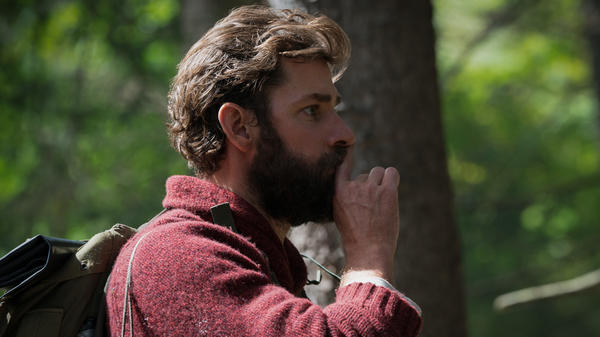 Quiet On The Set Piece: John Krasinski directs, co-stars, and co-writes <em>A Quiet Place</em>, a thriller that leverages silence for scares.