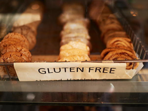 A tray of gluten-free pastries. For people with celiac disease, incidental ingestion of gluten can lead to painful symptoms and lasting intestinal damage. Two new studies suggest such exposure may be greater than many realize, even for those following gluten-free diets.