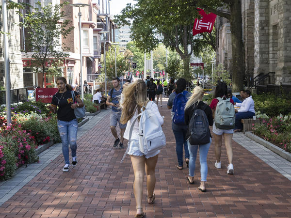 A new study from Temple University and the Wisconsin HOPE Lab found more than a third of college students can't always afford to eat or have stable housing.