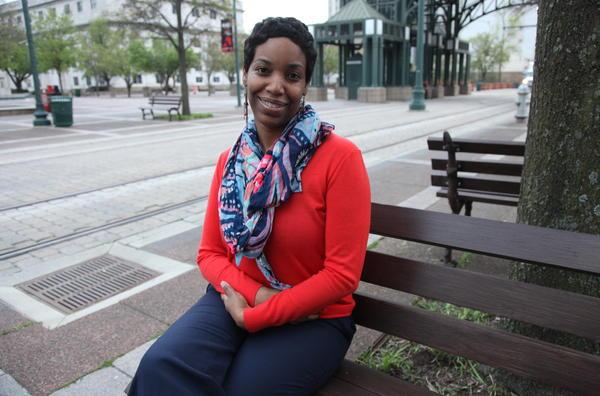 Karen Hartridge, a criminal prosecutor who went to law school at Howard University, grew up in Memphis' historically black neighborhood of Orange Mound.