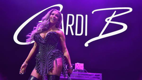 Cardi B performs onstage in Brooklyn, NY in October 2017.