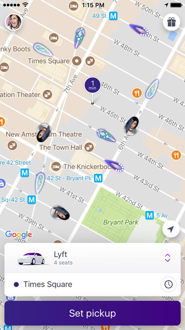 Lyft partnered with Cardi B to celebrate her No. 1 song on the Billboard Hot 100.