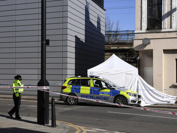 Police in London investigate the killing of 18-year-old Israel Ogunsola.