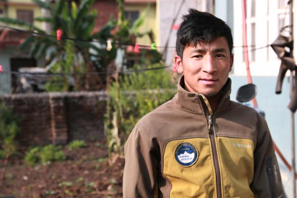 Geljen Sherpa retired last year from working as an icefall doctor, a job that requires spending up to 16 hours a day attaching ropes and ladders on Everest's most dangerous section. This year he will provide support on an Everest expedition instead.