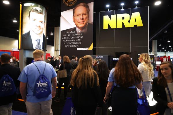 The National Rifle Association, which exhibited at the Conservative Political Action Committee conference, has acknowledged it has more Russian contributors than it previously did.