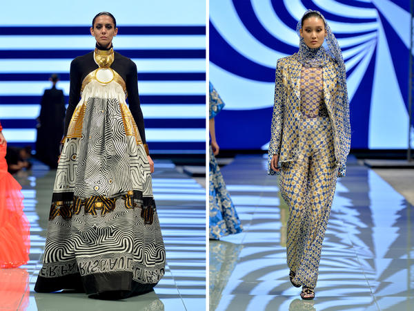 Jean Paul Gaultier was one of the big designers to participate in Saudi Arabia's first Arab Fashion Week in Riyadh.