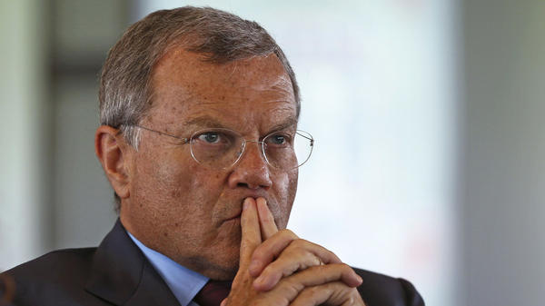 Martin Sorrell, the longtime CEO of WPP, attends a summit in June 2016, in London. He has stepped down after an investigation into alleged misconduct.