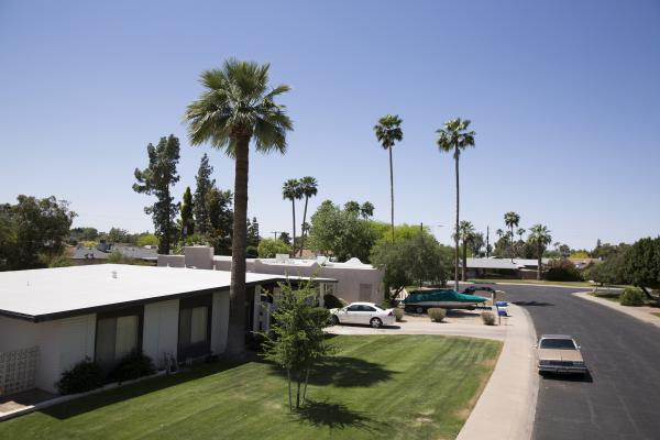 Rosin got into flipping in 2009 during the housing bust. This is one of Rosin and Pickett's properties in an upscale Phoenix neighborhood.