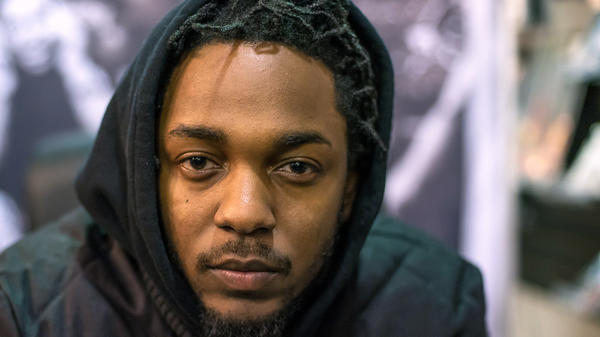 Kendrick Lamar in 2015. The rapper was awarded the 2018 Pulitzer Prize for Music.