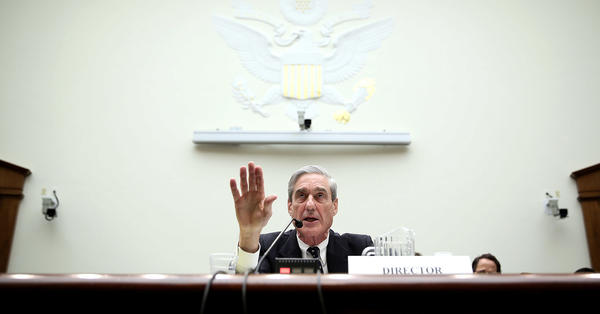 Some Senate Republicans are hoping to provide Justice Department special counsel Robert Mueller, seen here in 2013 when he was FBI director, with more protections in case President Trump tries to fire him.
