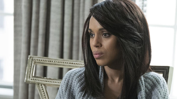 Kerry Washington as Olivia Pope on <em>Scandal</em>, which aired its series finale Thursday night.