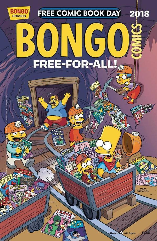 <em>Bongo Comics</em>