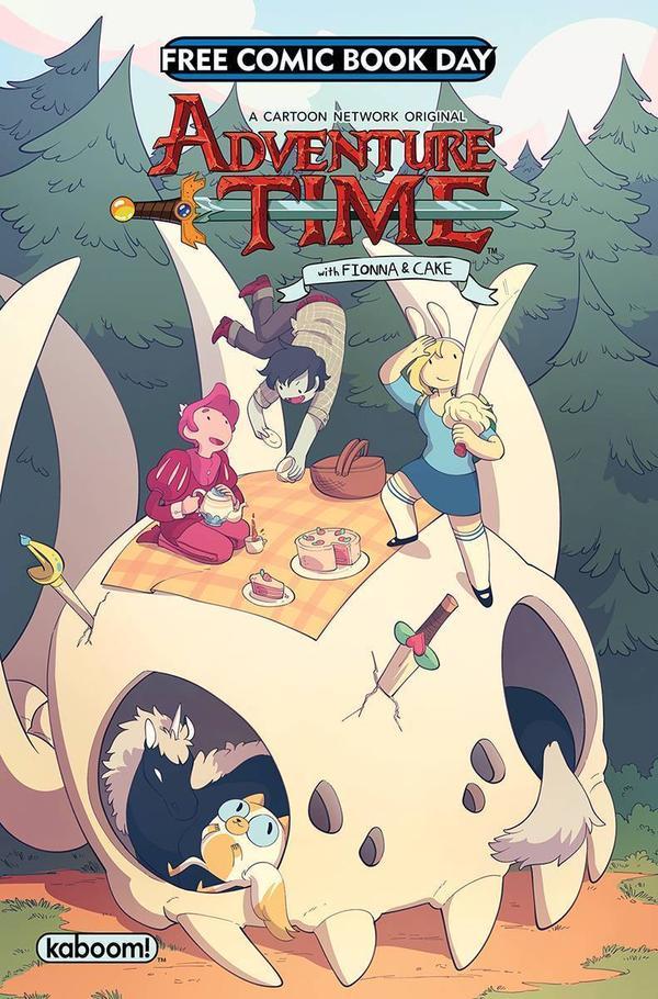 <em>Adventure Time</em>