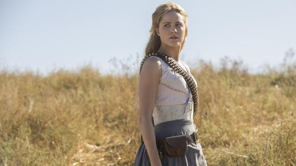 Evan Rachel Wood stars in HBO's <em>Westworld.</em>