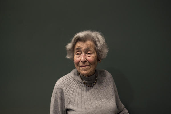 Margit Meissner, a 96-year-old Holocaust survivor and volunteer at the museum, says she's making up for years of ignorance by sharing what she has learned.