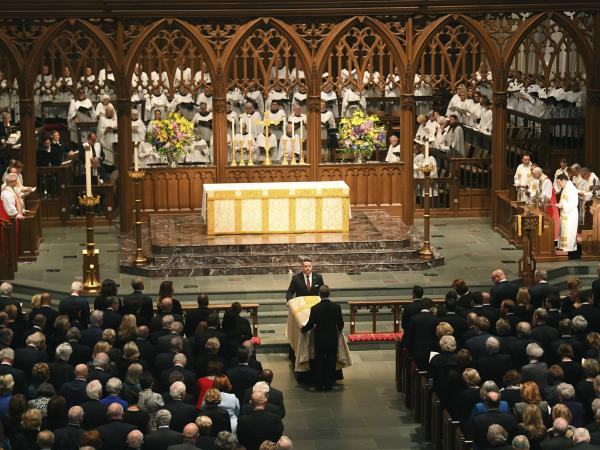 The funeral for former first lady Barbara Bush, who died earlier this week, was held on Saturday at St. Martin's Episcopal Church in Houston. Guests included former U.S. presidents, first lady Melania Trump, ambassadors and sports celebrities.