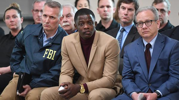 """""""I think anybody could've did what I did,"""" said James Shaw Jr., who disarmed a gunman at a Nashville-area Waffle House, where four people were killed. He spoke at a news conference with law enforcement officials on Sunday."""