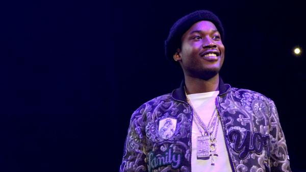 Meek Mill performs during 105.1's Powerhouse 2015 in October 2015 in Brooklyn, NY.