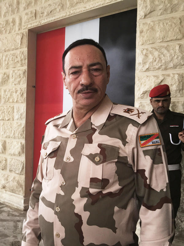 "Gen. Nijm al-Jabouri at Saddam Hussein's former palace compound in Mosul, where he is in charge of Mosul security. In 2003, he thought the new Iraq would be orderly, liberal and secular. ""We thought we would breathe freedom, we would become like Europe,"" he says. Instead, he says, ""We returned to the Dark Ages."""