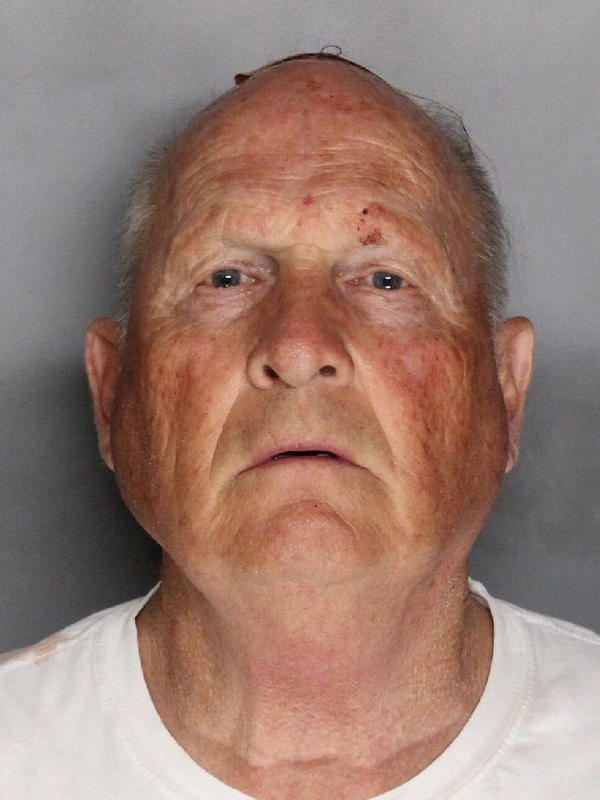 Joseph James DeAngelo, 72, was arrested this week.