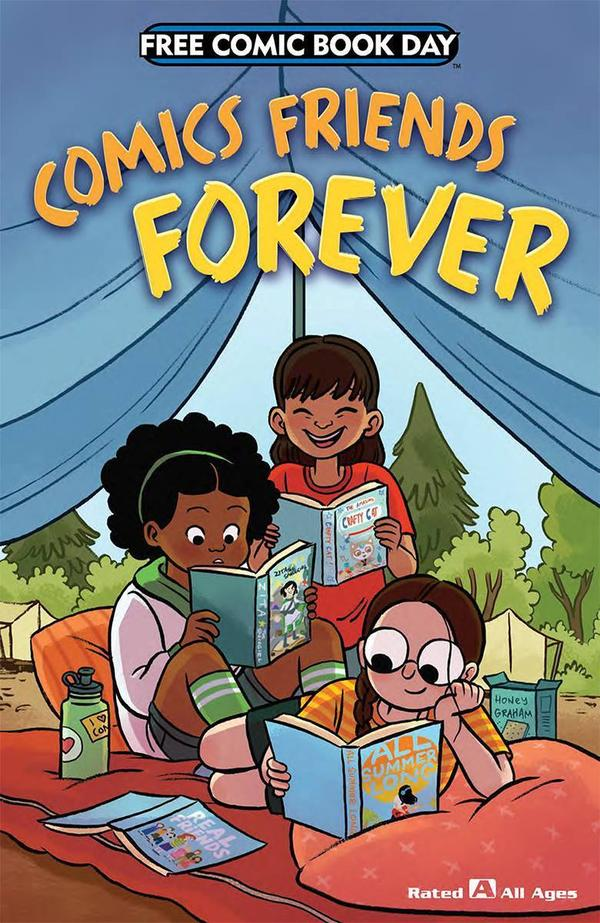 <em>Comic Friends Forever</em>