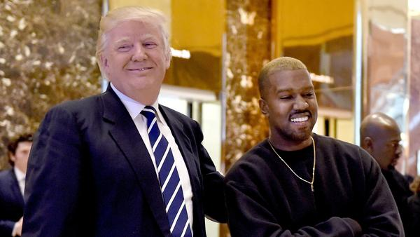 With two new songs, Kanye West shows his affinity for President Trump and the art of the troll.