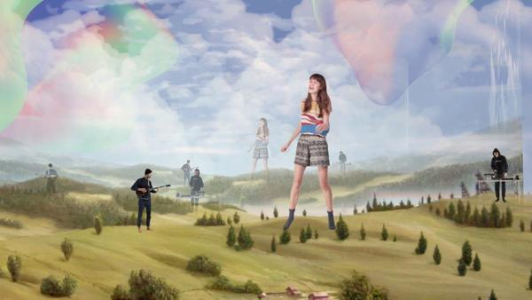 "A still from Pinkshinyultrablast's ""Dance AM"" video."