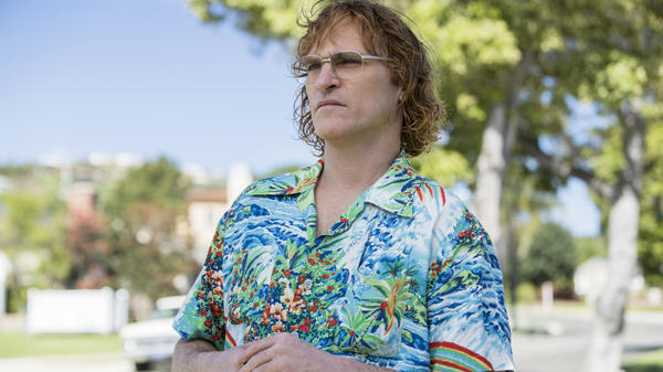 Joaquin Phoenix plays cartoonist John Callahan in <em>Don't Worry, He Won't Get Far On Foot</em>.