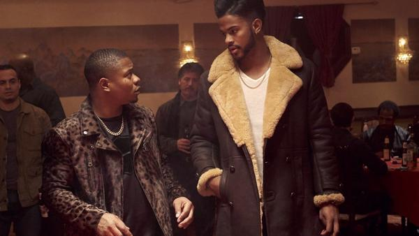 Jason Mitchell and Trevor Jackson star in <em>SuperFly</em>, a remake of the 1972 blaxploitation flick.