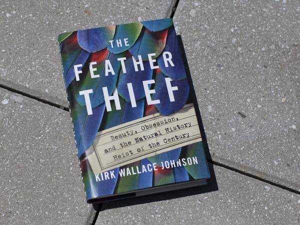 Cover image of <em>The Feather Thief,</em> by Kirk Wallace Johnson
