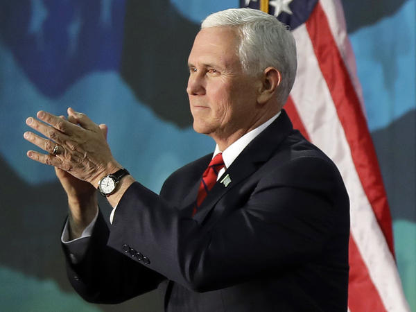 Vice President Pence will deliver the keynote address at the annual NRA convention in Dallas on Friday in front of an audience that won't be carrying any guns.